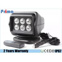 China 30W Cree Remote Control LED Search Light For Marine / Boat / Car / Camping wholesale