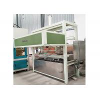 Quality Automatic Paper Pulp Moulding Egg Carton Machinery / Egg Crate Making Machine 1000pcs/h for sale
