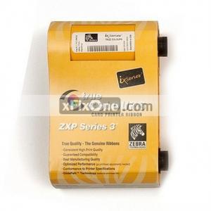 China Zebra 800033-840 YMCKO Color Ribbon 200 prints Original for ZXP3 on sale