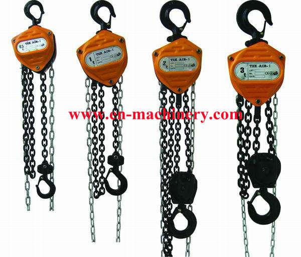Quality Chain Pulley block chain block Mini Machine 3m 1 Ton Chain Block for sale