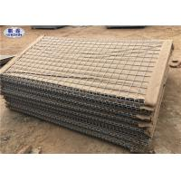Buy cheap Geotextile Lined HDP Galvanized earth - filled HESCO Barrier for Military from wholesalers