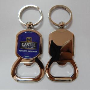 China Epoxy dome designer metal bottle opener, zinc alloy die casting bottle opener epoxy dome, wholesale