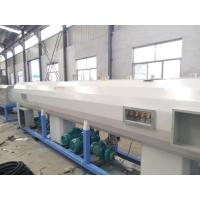 Buy cheap Single Screw Extruder Plastic PE PP Pipe Production Line Fully Automatic from wholesalers