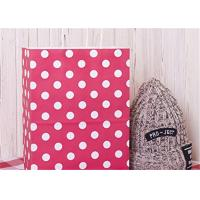 Quality Red Dots Paper Packaging Bags with Handle Gift Bags 8x4.75x10.5 inch Shopping for sale