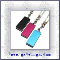 WS806-Metal necklace USB Flash Disk