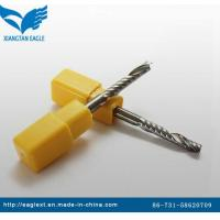 China Singel Flute Spiral Miiling Cutter Bits for Acrylic wholesale