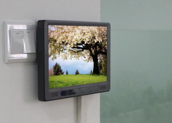 Quality Panel de control capacitivo negro de la pantalla táctil para el sistema inalámbrico de la automatización casera for sale