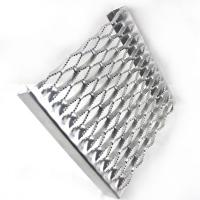 China Diamond / Crocodile Mouth Pattern Safety Grating Perforated Stair Treads wholesale