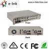 China Conversor manejável centralizado dos meios da fibra dos ethernet, conversor de 16 meios da fibra ótica dos entalhes wholesale