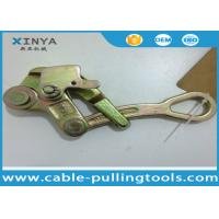 China Steel Pulling Grip Come Along Clamp For ACSR or AAC , Wire Rope Grip wholesale
