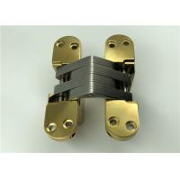 China High Sensory Stainless Steel Concealed Hinges With PVD Surface Finishing wholesale