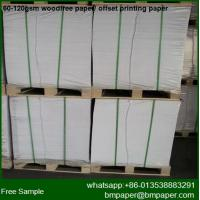 China High Quality Bulky Book Paper 60gsm to 80gsm wholesale
