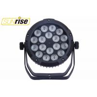 Buy cheap 18 * 12W RGBWAP Waterproof LED Par Light / IP44 DMX512 LED Stage Lighting from wholesalers