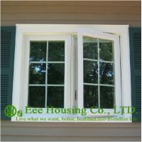 China French Type Aluminum Casement Windows, grilled style wholesale