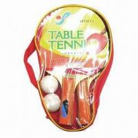 China Table tennis balls, made of plastic and wood wholesale