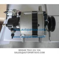 China Alternador NISSAN TD42 23100-11T18 NISSAN Patrol SAFARI ALTERNATOR,24V,35 AMP,TD42 on sale