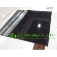 China Black Color Polished Porcelain Tile For Floor And Wall, 600mm * 600mm Black polished tile wholesale
