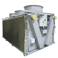 China 15kw Industrial Dry Type Air Condenser Cooler for Air Conditioner Industry wholesale