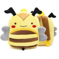 China New Cute Cartoon Kids Plush Backpack Toy Mini School Bag Children's Gifts Kindergarten Boy Girl Baby Student Bags Lovely wholesale