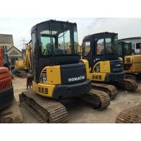 Buy cheap LB 5160kg Used Crawler Excavator Komatsu PC55MR , Used Mini Trackhoes For Sale from wholesalers