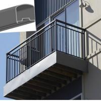 Steel Stair Hand Railing Images