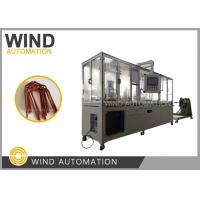 China Aircraft areo flat wire hairpin forming shape the generator conductor wire hair pin bending machine WIND-AWF on sale