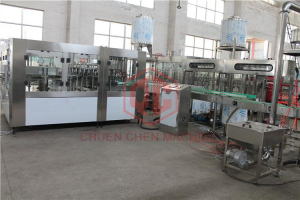 Quality Automatic Packing Liquid Plastic Bottle Filling Machine Hot Juice Capping Machine for sale