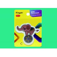 China Elephant shaped creative Fancy Sticky Notes for students 63x58mm wholesale