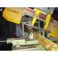 Large Band Saws Copper Cutting Machine 60mm -130mm 5KW servo motor driven system