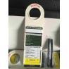 China O suporte plástico da etiqueta do andaime do PVC/ABS da segurança para o fechamento etiqueta Inserrt wholesale