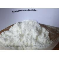 China Health Testosterone Acetate Testosterone Anabolic Steroid For Bodybuilding CAS 1045-69-8 wholesale