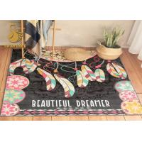 China Commercial kitchen rugs washable Carpet On Floor With Designer wholesale