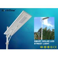 China IP65 70W LED Solar Powered Street Lights With Lithium Battery 50AH & Motion Sensor wholesale