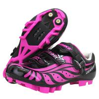 China Comfortable Nylon Ladies Cycle Touring Shoes , Female Cycling Shoes Dampproof wholesale