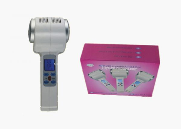 Quality Ultrasonic Mini Facial Hot Cold Hammer Thermal Therapy Machine for Home Use for sale