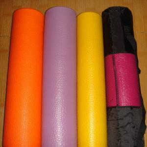 China Beautiful Sustainable PVC Yoga Mat Eco Friendly Kids Yoga Mats wholesale
