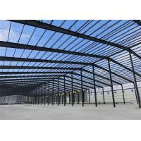 China Mouldproof Steel Structure Construction Custom Design With Office / Steel Stairs wholesale