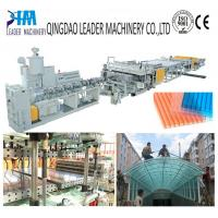 China Greenhouse polycarbonate hollow roofing sheet extrusion machine wholesale