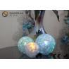 China L'ensemble de 3 lumières de boule en verre apprêtent avec de la glace comme l'OEM/ODM de finition disponibles wholesale