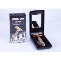 China Nonslip Metal handle double edge safety razor for shaving Personal care on sale