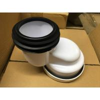 China PP Material Toilet 100mm Offset Pan Connector , Toilet Pipe Fittings Without Burrs wholesale