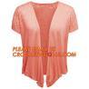 China Full Needle Waved Blanket Women's Cardigan, Novelty Stitch Long Sleeve Pointelle Lace Women Long Cardigan wholesale