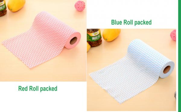 Quality Customized Lightweight Spunlace Nonwoven Wipes Fast Drying For Catering for sale