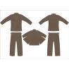 China Brown Pre - Shrunk 100% Hemp Bjj Gi Lightweight Jiu Jitsu Gi wholesale