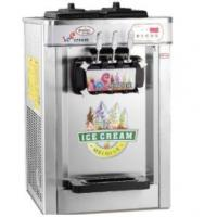 China 3 flavors soft ice cream machine wholesale