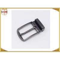 Pin Type Reversible Metal Belt Buckle , Mens Coat Belt Buckles Replacement