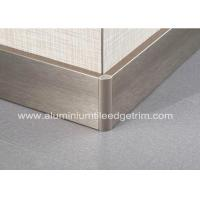 China Titanium Gold Aluminium Skirting Boards Perth / Bunnings For Wall Edge Protection wholesale