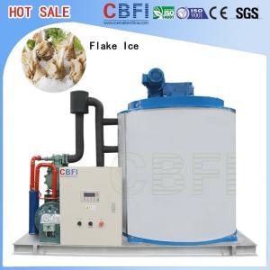 China 500 Kg To 60000 Kg Flake Ice Machine / Automatic Ice Machine For Cooling / Keep Fresh wholesale