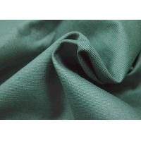 China Green Color 100 Cotton Canvas For Garment Waterproof Fire Retardant wholesale