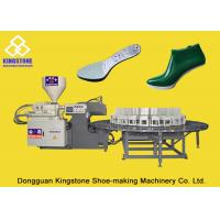 Automatic Shoe Making Machine , Rotary Injection Machine For PP PVC TPR TPU